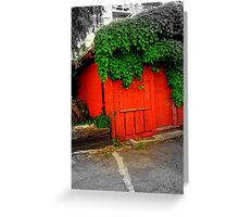 Shady Rest Motel Greeting Card