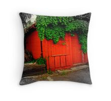 Shady Rest Motel Throw Pillow