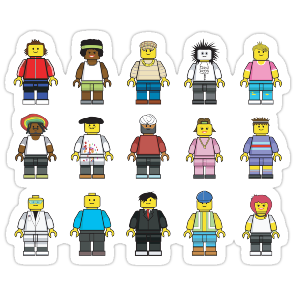 Lego Guys by miners