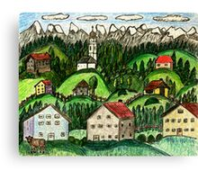 Hill Contry Canvas Print