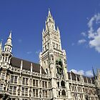 City hall in Munich by Klaus Offermann