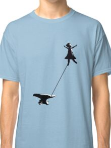 flying girl Classic T-Shirt