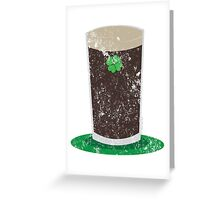 VINTAGE Pint of Guiness Greeting Card