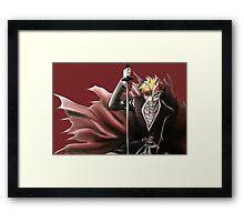 Ichigo Bankai Hollow Mask Bleach Framed Print