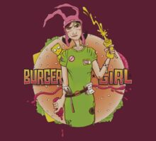 Burger Girl by kgullholmen
