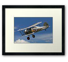 Gloster Gladiator I K7985 G-AMRK banking in the sunshine Framed Print