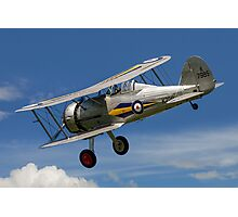 Gloster Gladiator I K7985 G-AMRK banking in the sunshine Photographic Print