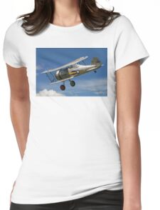 Gloster Gladiator I K7985 G-AMRK banking in the sunshine Womens Fitted T-Shirt