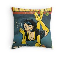 Hench Fiction Throw Pillow