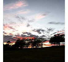 Chico, California: End of the Day Photographic Print