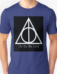 Deathly Hallows The Boy Who Lived T-Shirt