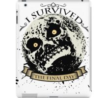 I Survived The Final Day Moon Shirt iPad Case/Skin