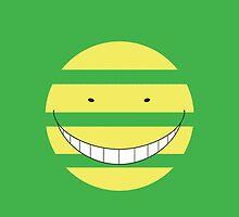 Korosensei Mockery Face by Raieruu