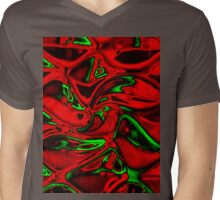cool shades red ...the T Mens V-Neck T-Shirt