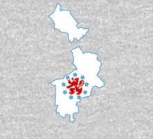 Flag Map of German-speaking Community of Belgium Unisex T-Shirt