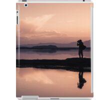 Dusk photographer iPad Case/Skin