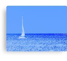 Sailing Away Blues Canvas Print