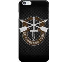 Carbon Special Forces Logo iPhone / Samsung Galaxy Case iPhone Case/Skin