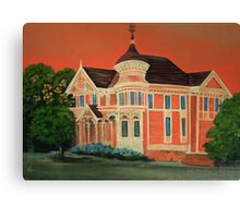 Victorian Sunset Canvas Print