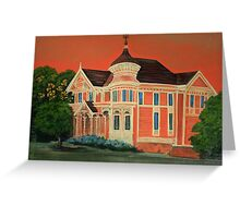 Victorian Sunset Greeting Card