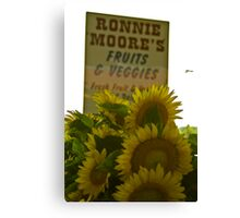 Ronnie Moore's  Canvas Print