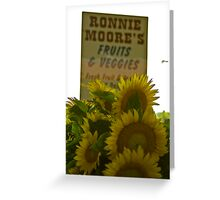 Ronnie Moore's  Greeting Card