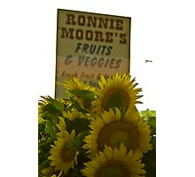 Ronnie Moore's  Photographic Print