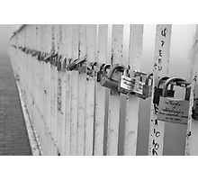 Locks of Love Photographic Print