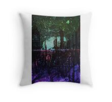 scifi dystopia Throw Pillow
