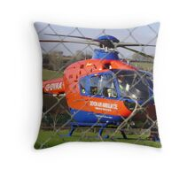 devon air ambulamce Throw Pillow