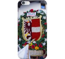 Coat of arms of Austrian town Telfs iPhone Case/Skin