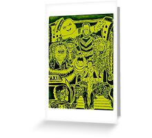 Ghostbusters Ghouls Greeting Card