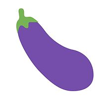 Aubergine Twitter Emoji by emoji