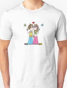 Hippie Lovers T T-Shirt
