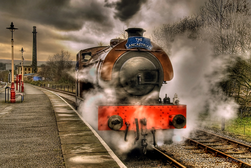 Steam Locomotive, East Lancs Railway by Steve  Liptrot