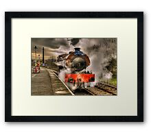 Steam Locomotive, East Lancs Railway Framed Print