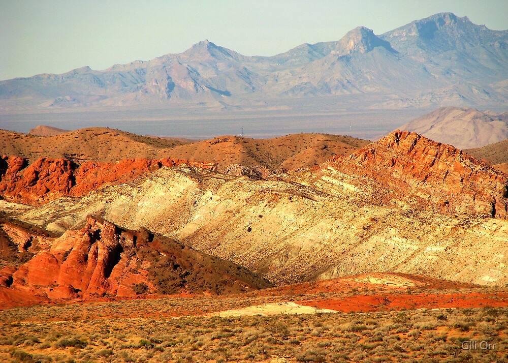 Valley of Fire (1) by Gili Orr
