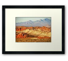 Valley of Fire (1) Framed Print