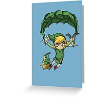 Flying Away Greeting Card