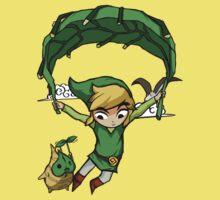 Legend Of Zelda - Flying Away Kids Tee