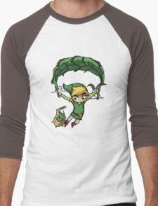 Legend Of Zelda - Flying Away Men's Baseball ¾ T-Shirt