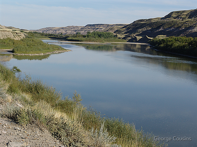 Red Deer River Valley by George Cousins