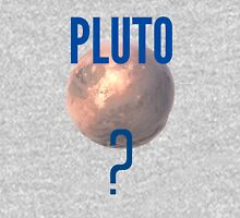 Pluto? Womens Fitted T-Shirt