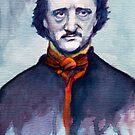 Edgar Allan Poe by Joe Humphrey