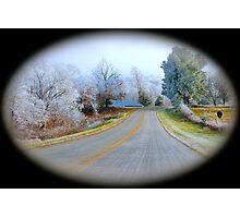 Rural Road,  Brannon Mt. NW Arkansas, USA Photographic Print