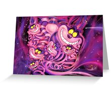 Cheshire Cat from Alice in Wonderland CLASSIC Greeting Card