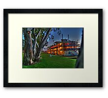 Murray Princess - Mannum Framed Print
