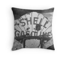 Shell Sign Throw Pillow