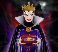 Evil Queen from Snow White by Ryan Biddle
