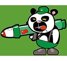 Panda Commando II Photographic Print